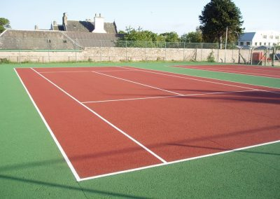 En-Tout-Cas Tennis Court - Re-Painted - Highlands
