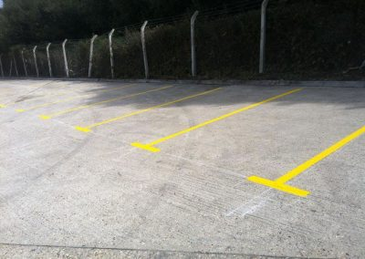Yellow Car Bays