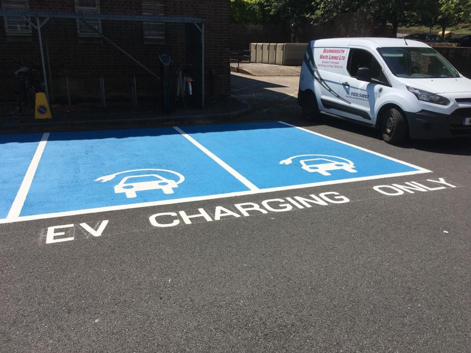 Electric Charging Bay Painting